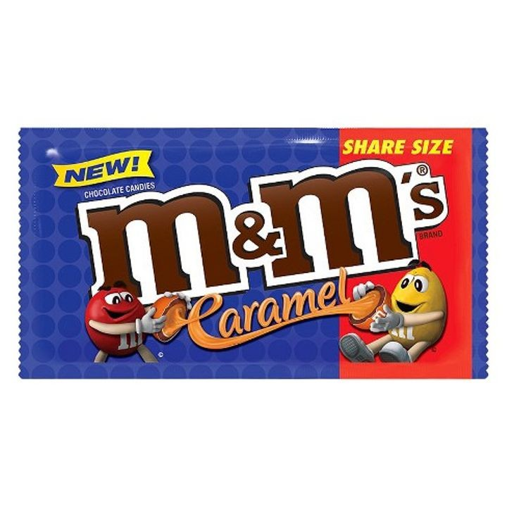 M&M Caramel Share Size - 2.8oz