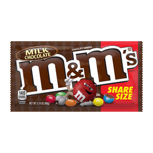 M&m Milk Chocolate Share Size - 3.14oz