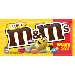 M&M Peanuts Share Size - 3.27oz
