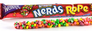 Wonka Nerds Rope Rainbow - 1oz