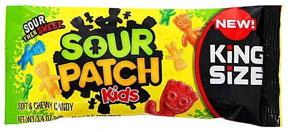 Sour Patch Kids King Size (3.4oz)
