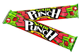 Sour Punch Straw - Strawberry