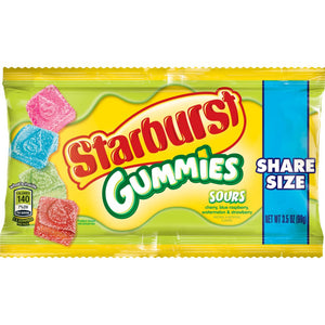 Starbursts Sour Gummies - 3.5oz