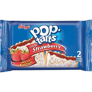 Frosted Strawberry Poptarts