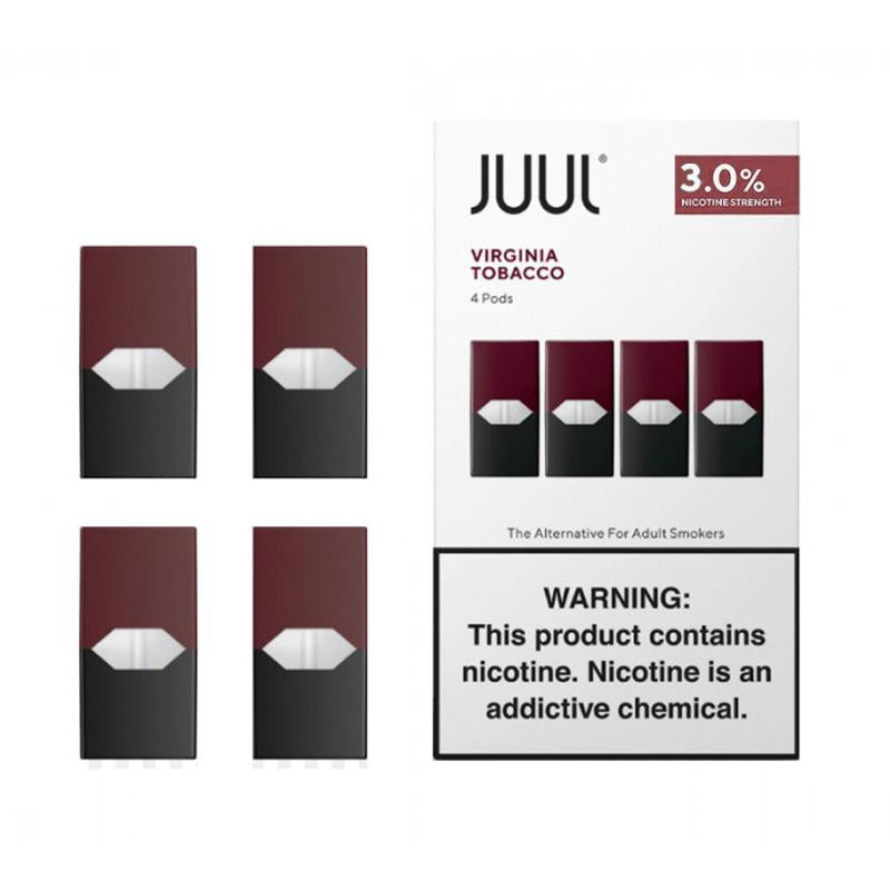 JUULpods 4 Ct - Virginia Tobacco 3%