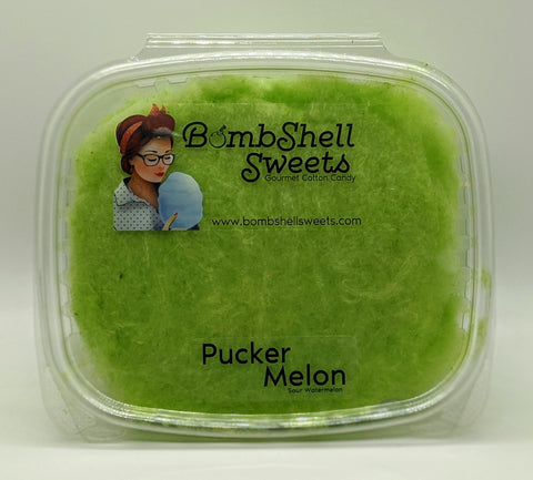 Puckermelon Cotton Candy