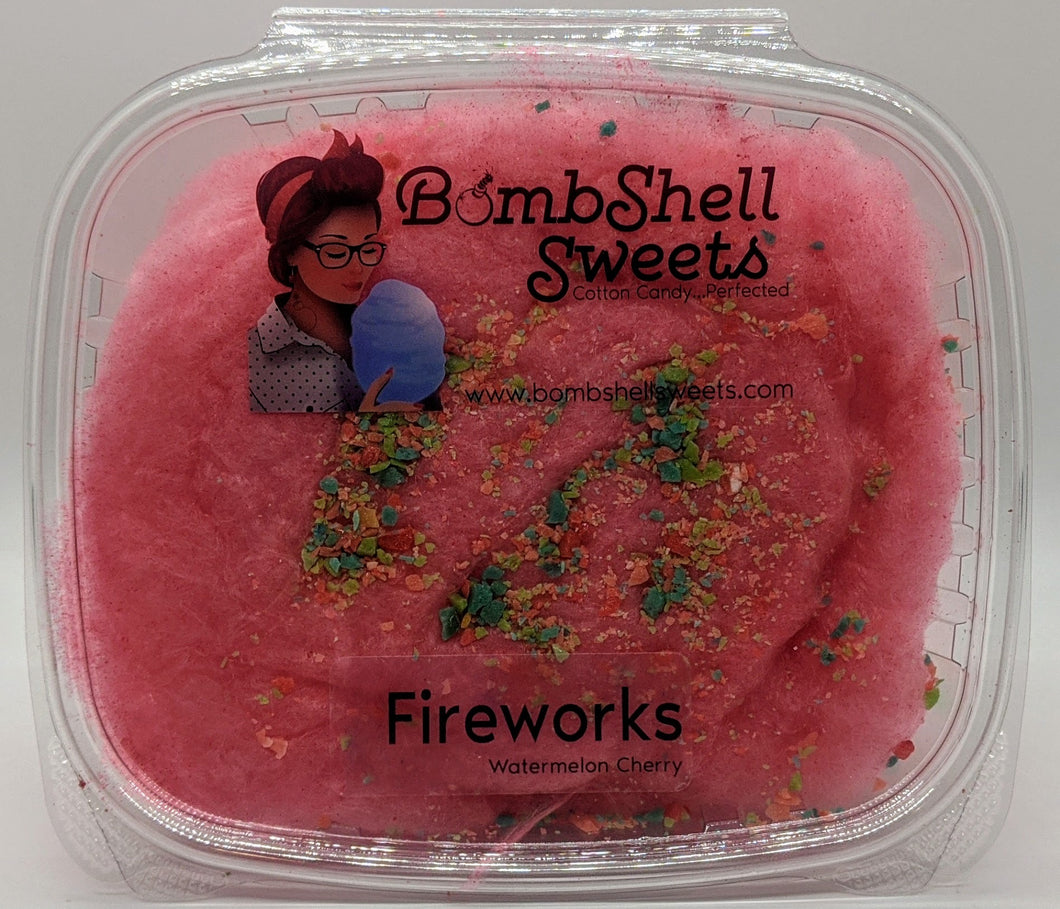 Fireworks Cotton Candy