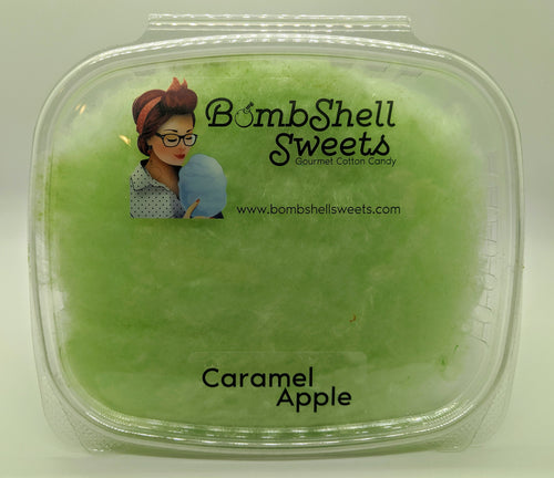 Caramel Apple Cotton Candy
