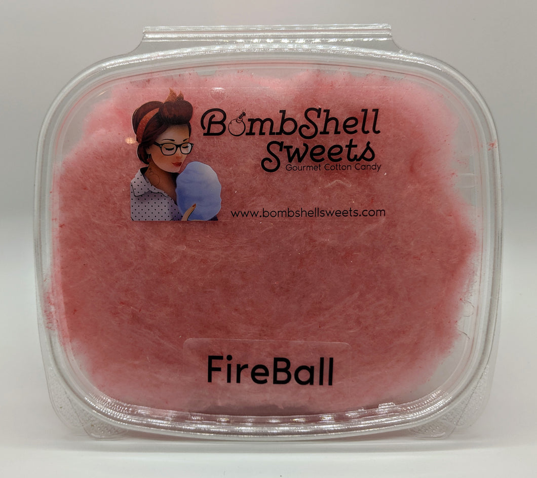 Fireball Cotton Candy