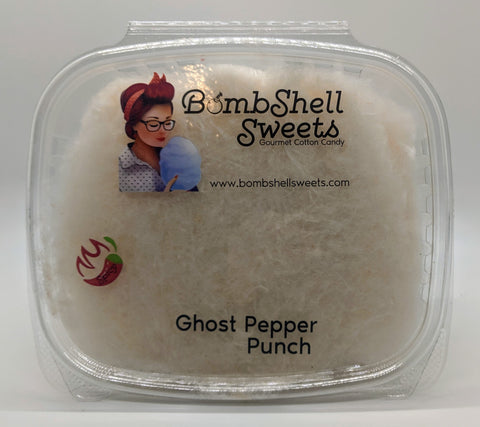 Ghost Pepper Punch Cotton Candy