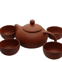 Load image into Gallery viewer, Chinese Clay Travel Tea Set