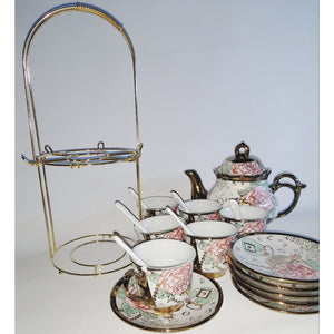 Vintage European Style - Complete Tea Set