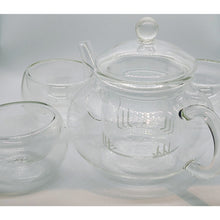 Load image into Gallery viewer, Heat Resistant Glass Tea Set