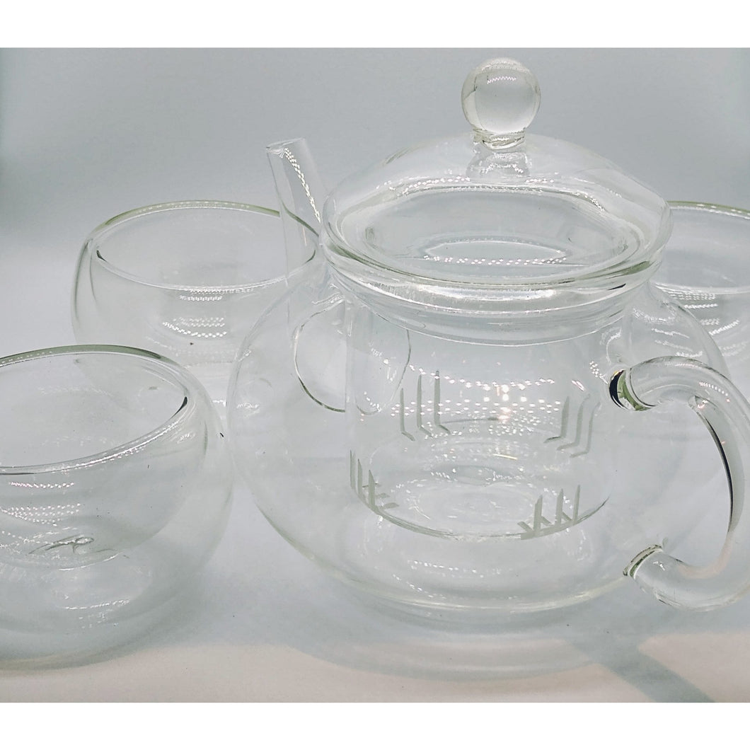 Heat Resistant Glass Tea Set