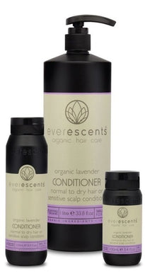 Everescents Organic Lavender Hair Conditioner 100ml, 250ml, 1L - Harlequin Hair