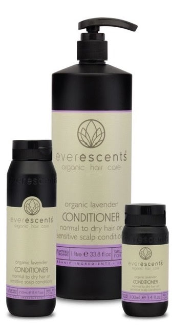 Everescents Organic Lavender Hair Conditioner - Harlequin Hair