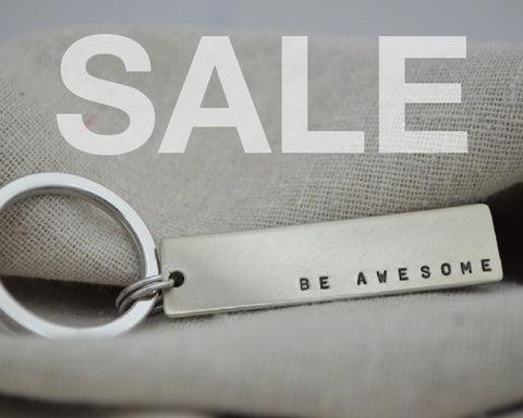 SALE Be Awesome Keychain