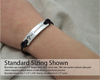 Too Charming Three Line Med Alert Bracelet