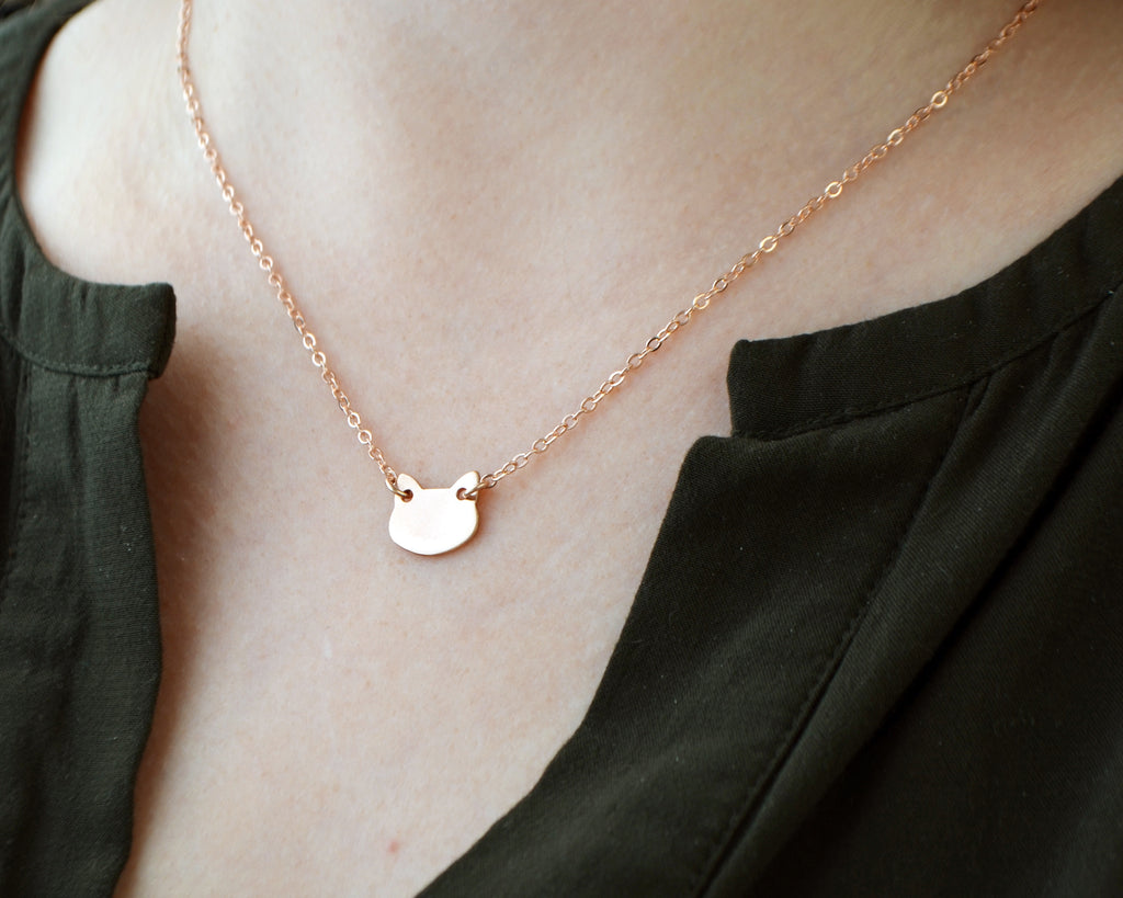 Modern Kitty Necklace