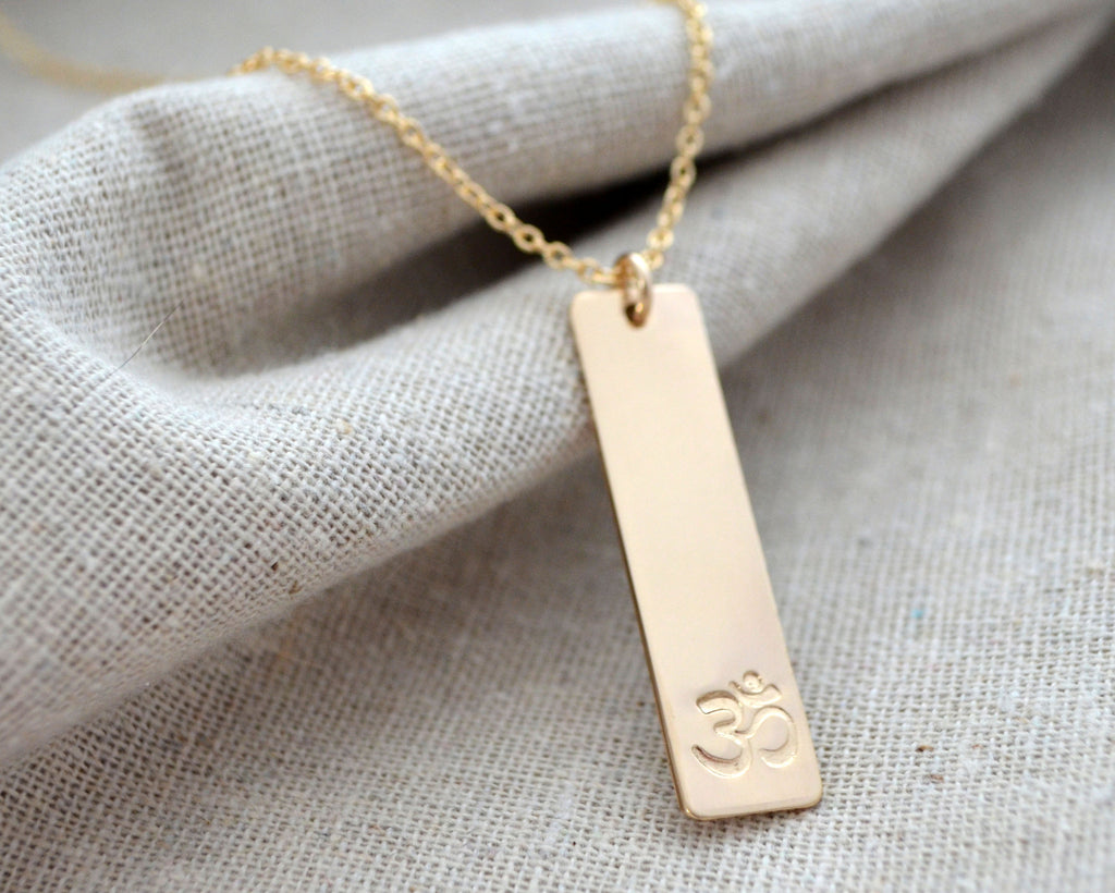 Long Om Necklace