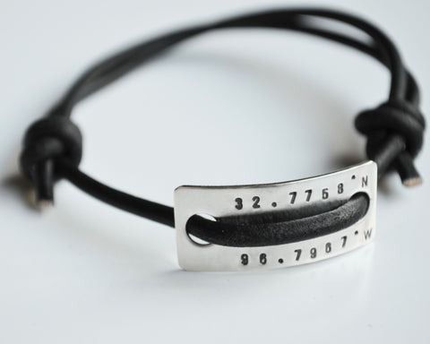Coordinate Slipknot Bracelet