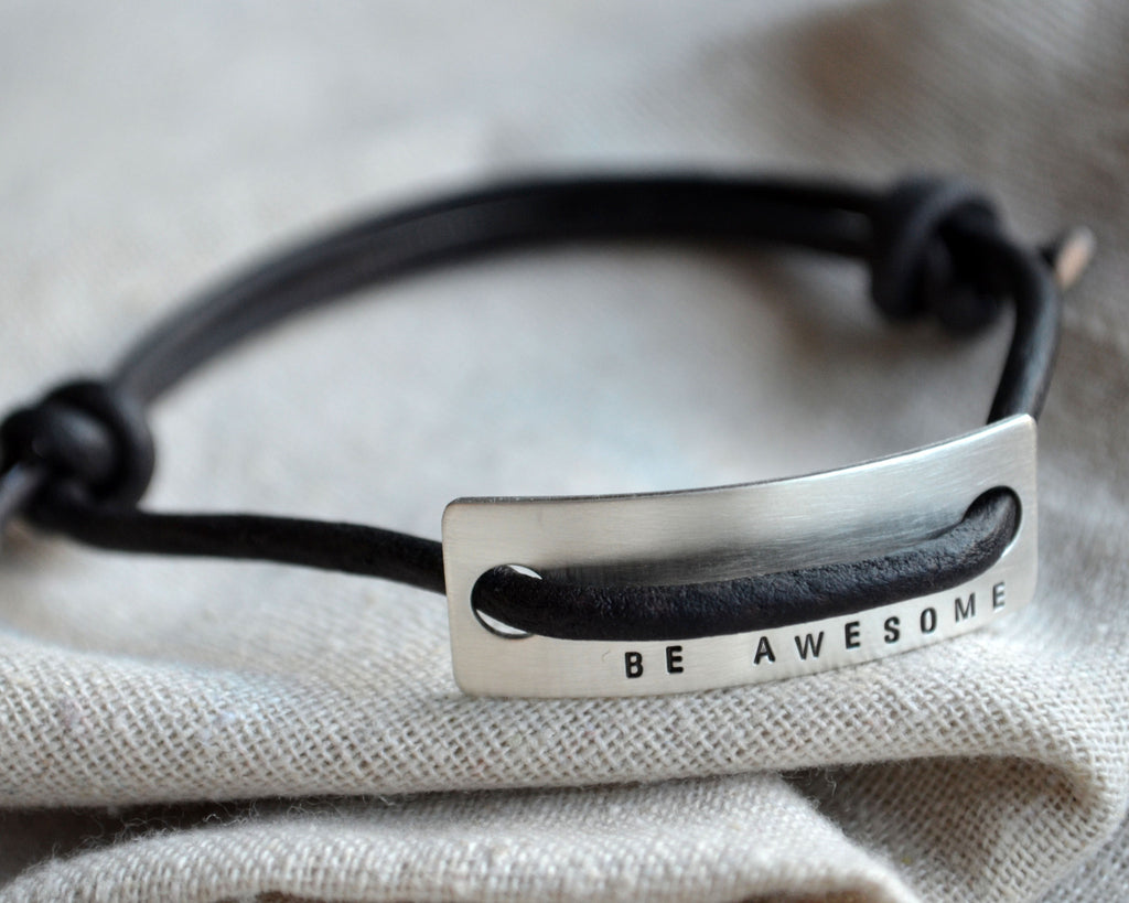 Be Awesome Slipknot Bracelet