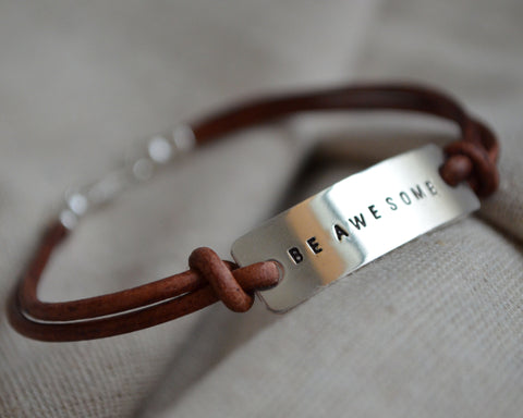 Be Awesome Bracelet
