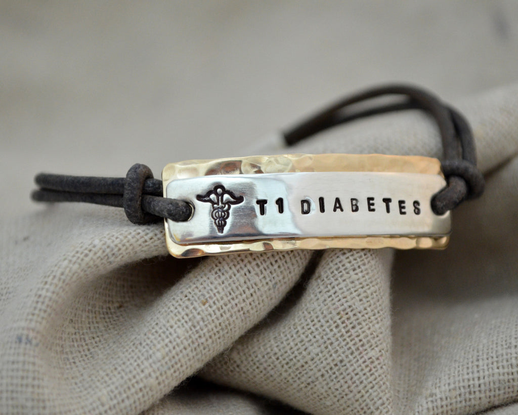 Two Tone Classic Medical Alert Bracelet