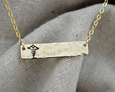Modern Medical Alert Necklace