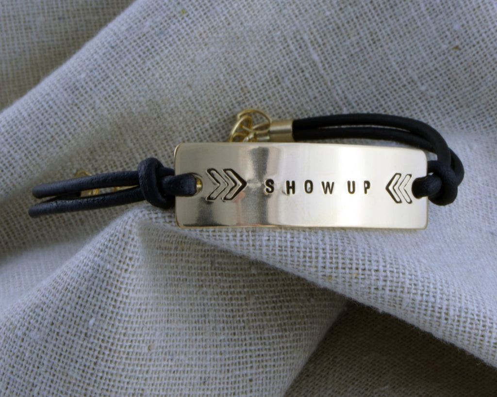 SALE! Show Up Chevron Bracelet