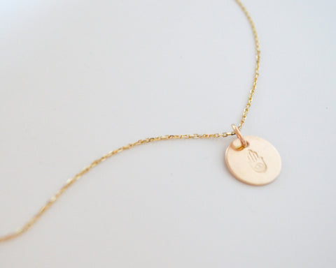 14k Charm Necklace