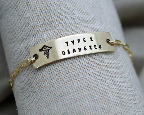 Medical Alert Classic Chain Bracelet