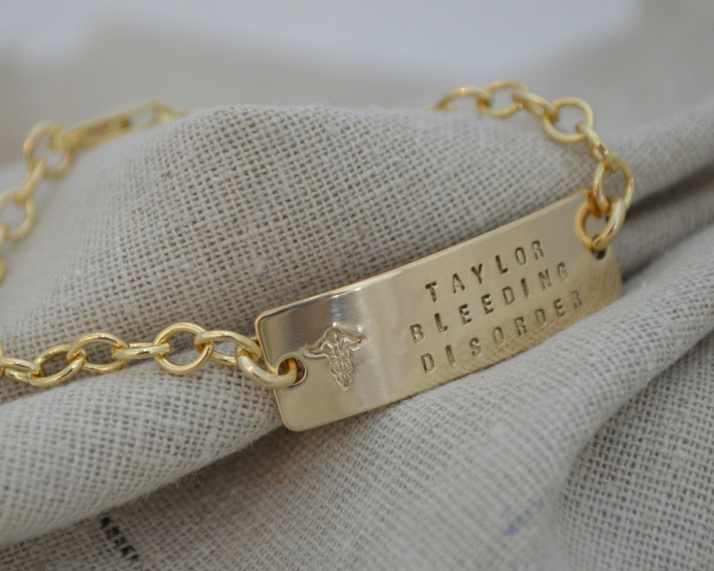 Chunky Chain Medical Alert Bracelet