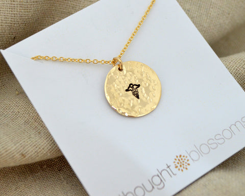 Perfectly Private Medical Alert Necklace