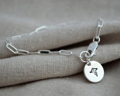 Dangle Charm Medical Alert Bracelet
