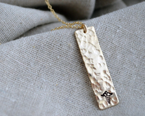 Long & Lean Medical Alert Necklace