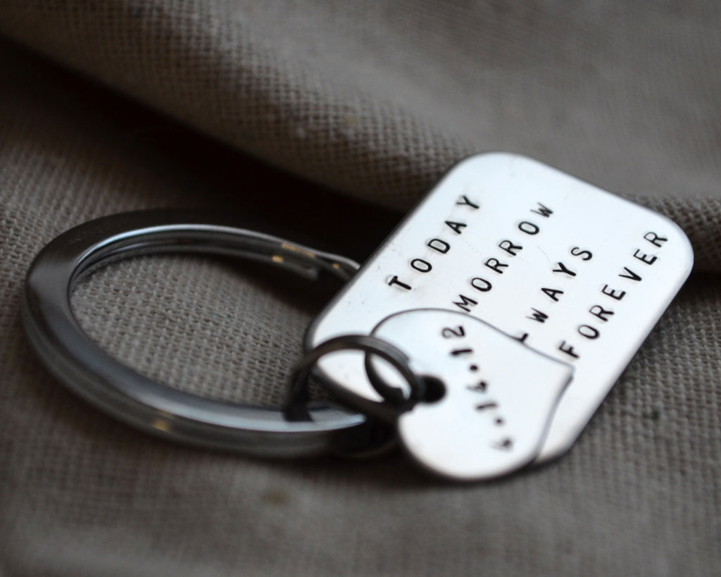 Quote with Love Keychain