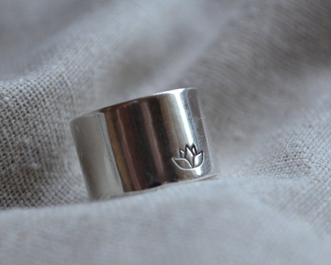 Sterling Statement Ring