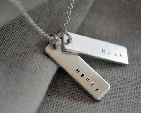 Double Sided Name Necklace