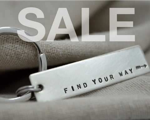 SALE Find Your Way Keychain