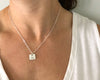 Lil Square Necklace