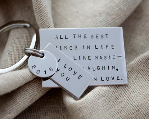 Love Quote Keychain