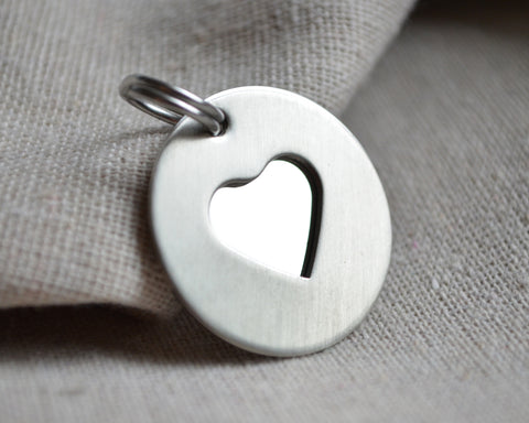 Silver Love My Pet ID Tag