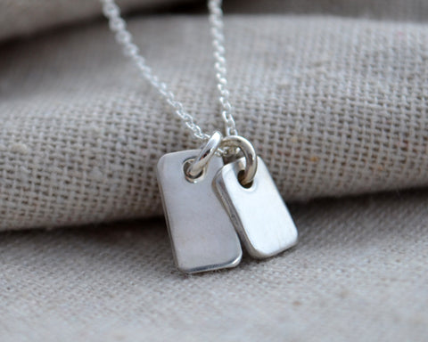 Tiny Tags Necklace