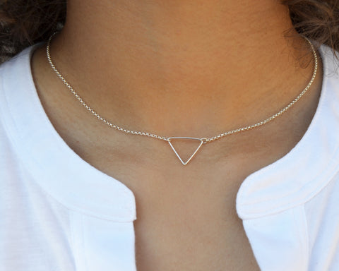 Balance Triangle Necklace