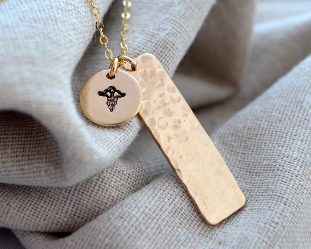 Secret Two Charm Medical Alert Necklace