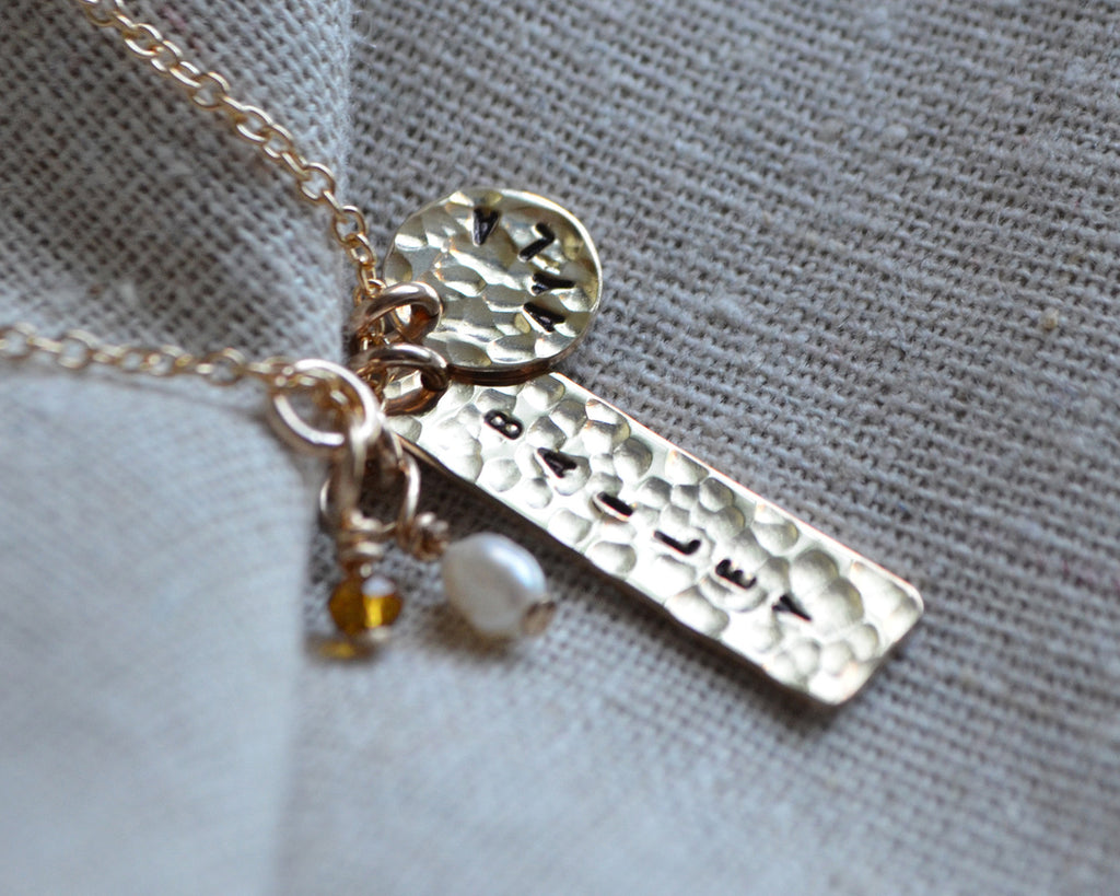 Double Love Mommy Necklace