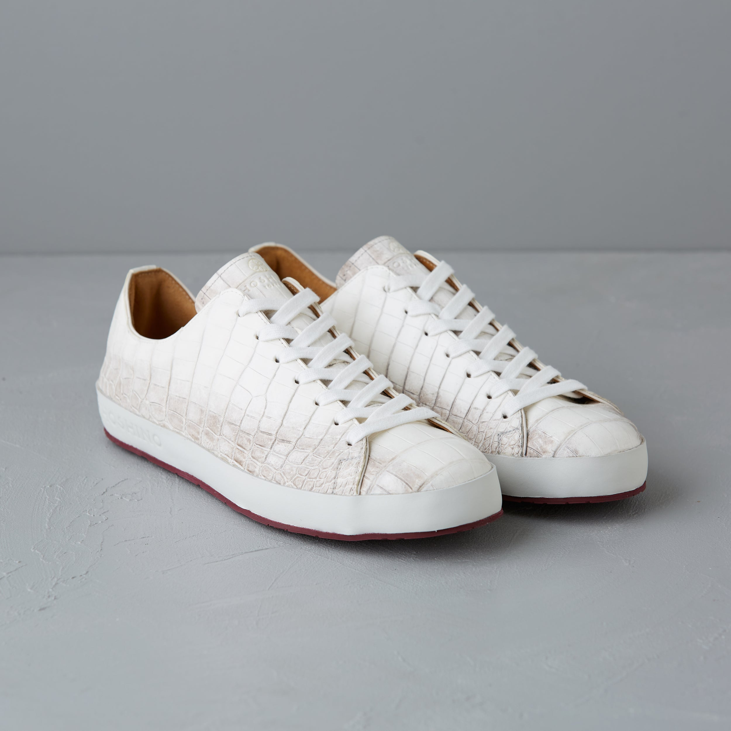 [Men's] Liberte : Crocodile Leather all /  Himalayan