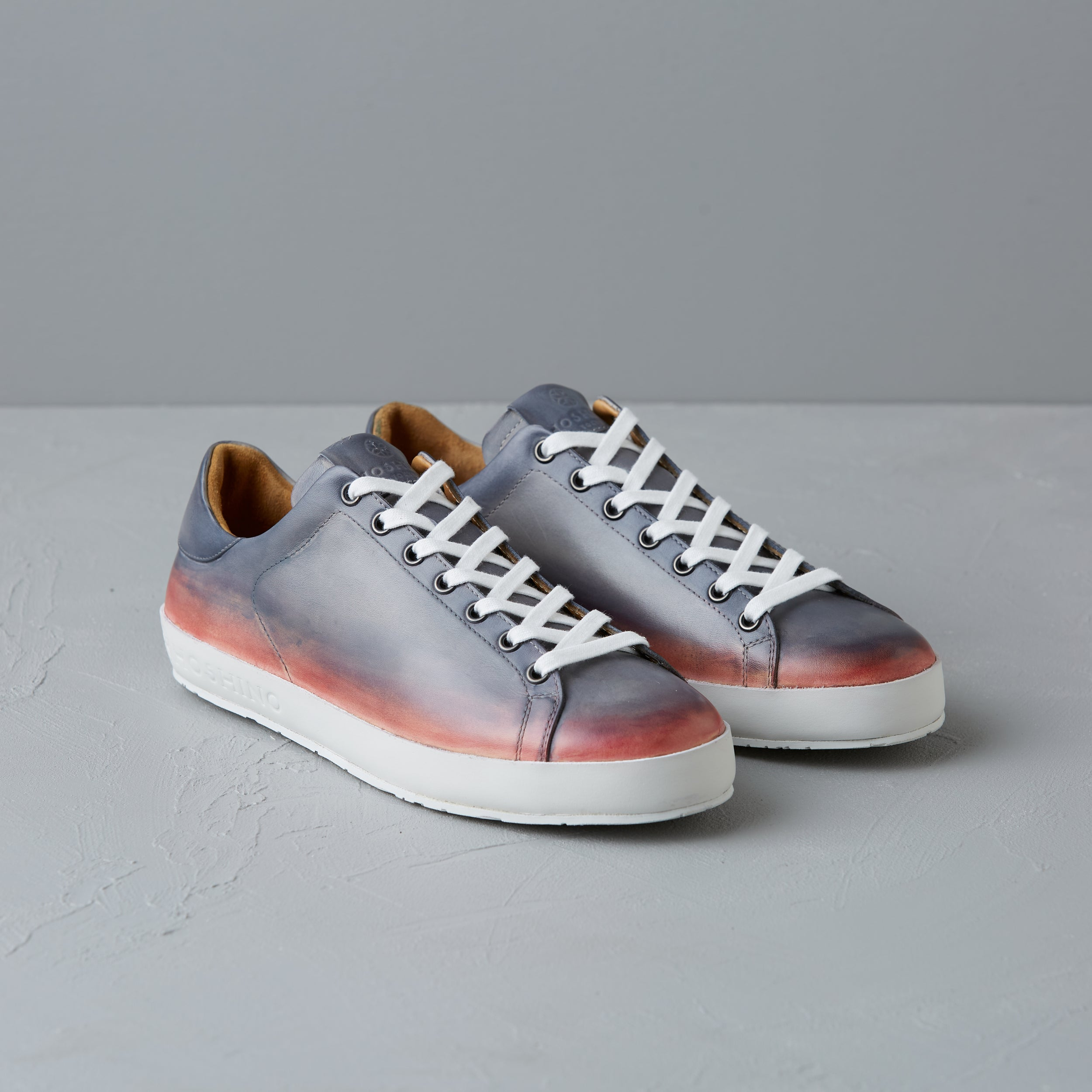 [Women's] Liberte : Patine [Calf Leather] / Gray and Pink
