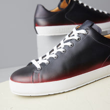 load image into gallery viewer, [women's] Liberte - patina calfskin red and black